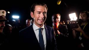 Österreichs Ex-Kanzler Sebastian Kurz steuert auf eine weitere Amtszeit zu