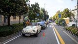Bei der Mille Miglia Green war oft Geduld angebracht