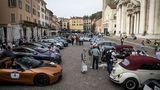 Spektakuläre Elektroautos suchte man Mille Miglia Green vergebens