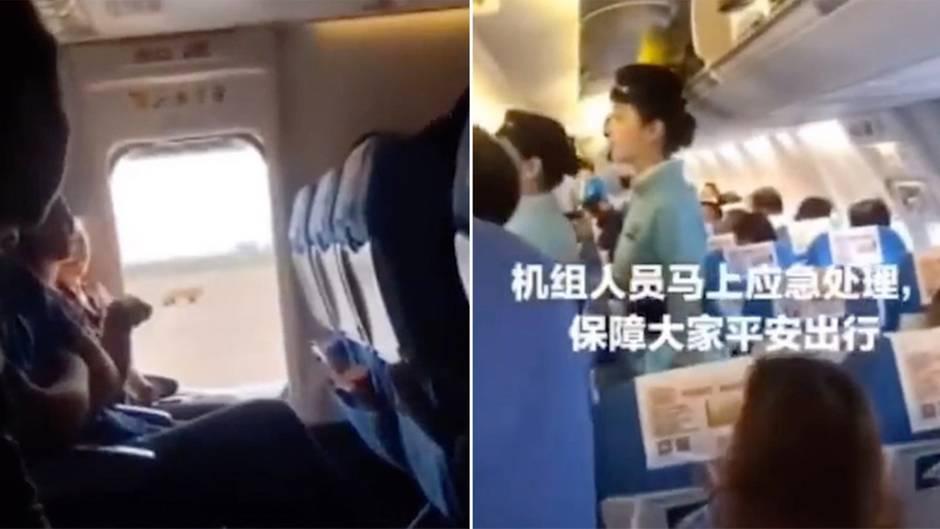 Chaos an Bord: Frau öffnet Notausgang in Flugzeug, weil ihr die Luft zu stickig ist – das hat bittere Folgen für sie