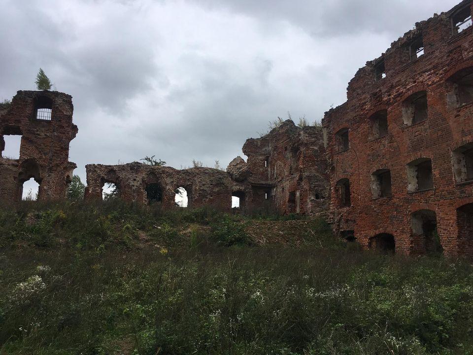 Das Schloss in Ragnit