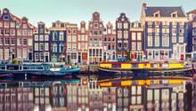 Amsterdam und Gracht