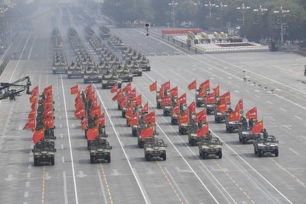 Militärparade in Peking