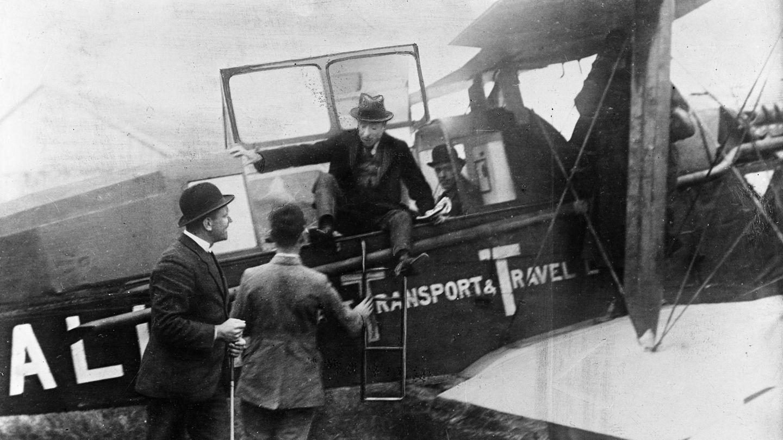 Arico D.H.16 von KLM