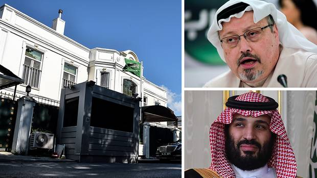 Das Konsulat Saudi-Arabiens in Istanbul