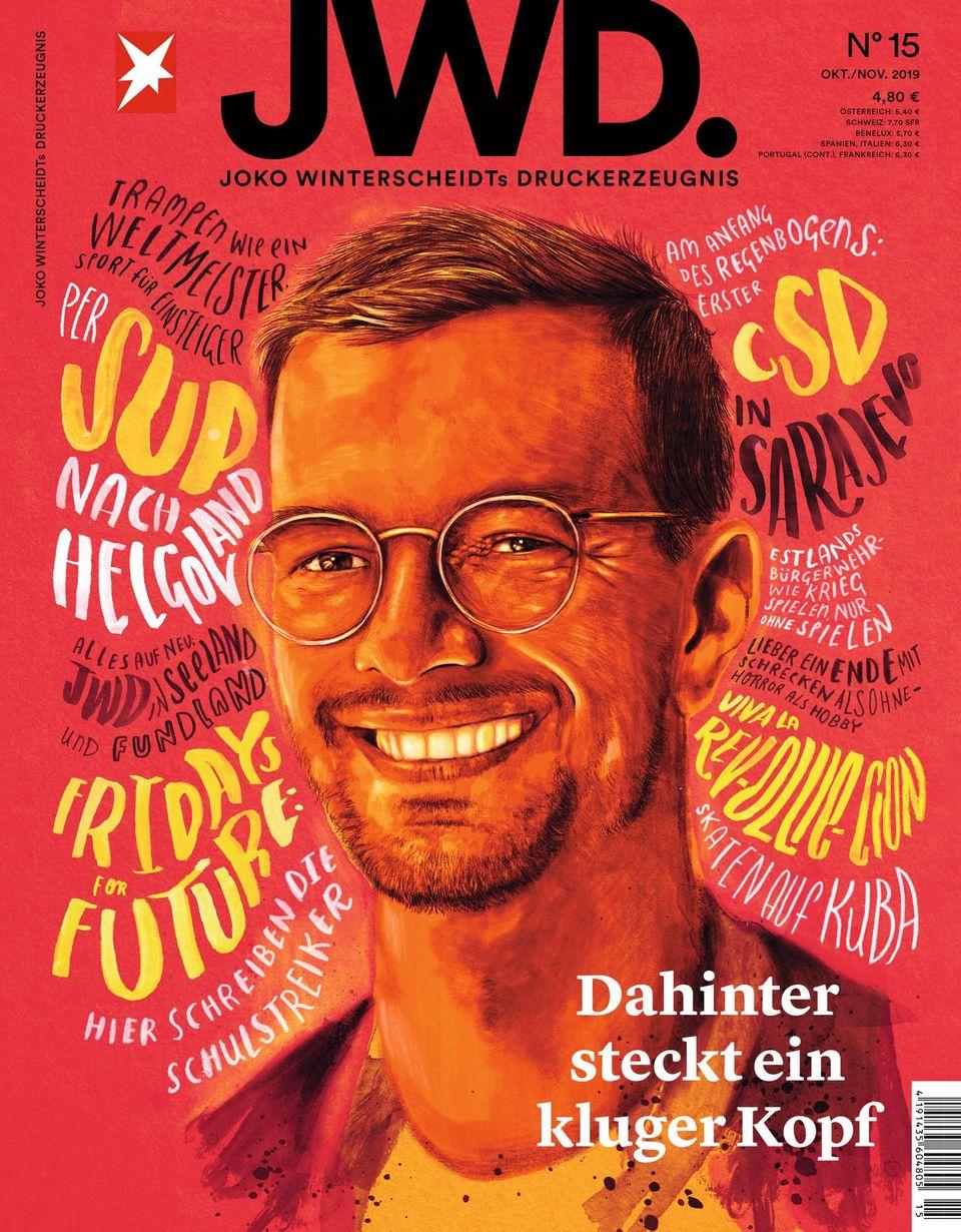 Cover der JWD, Ausgabe 15