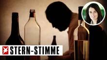 Alkoholismus ist für Beziehungen eine Zerreißprobe (Symbolbild)