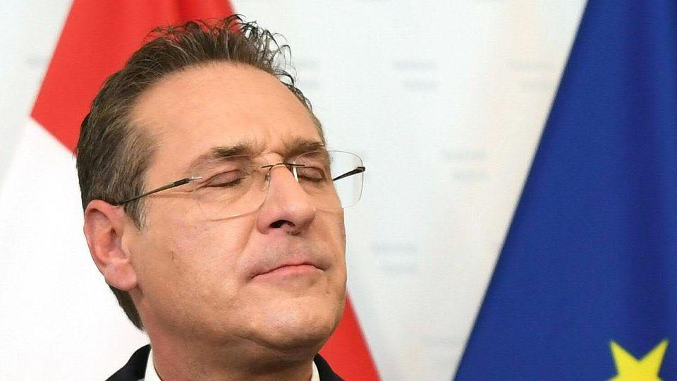 Heinz-Christian Strache, ehemaliger Parteichef der FPÖ