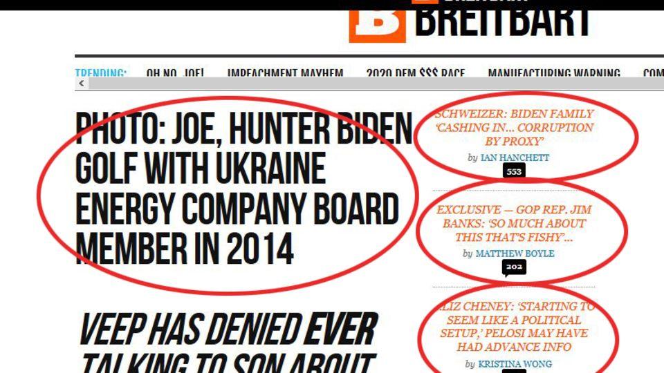Screenshot Breitbart