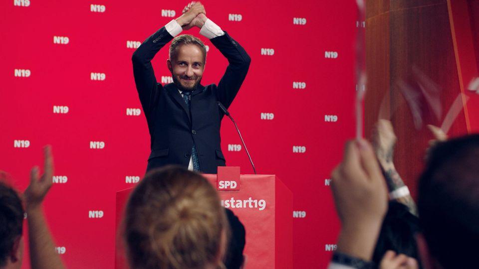 SPD-Mitglied Jan Böhmermann