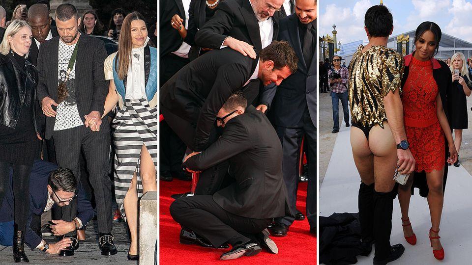 Paris Fashion Week: Jetzt auch Justin Timberlake: Diese Promis hat VIP-Schreck Vitalii Sediuk schon belästigt