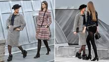 Marie Benoliel auf dem Chanel-Laufsteg