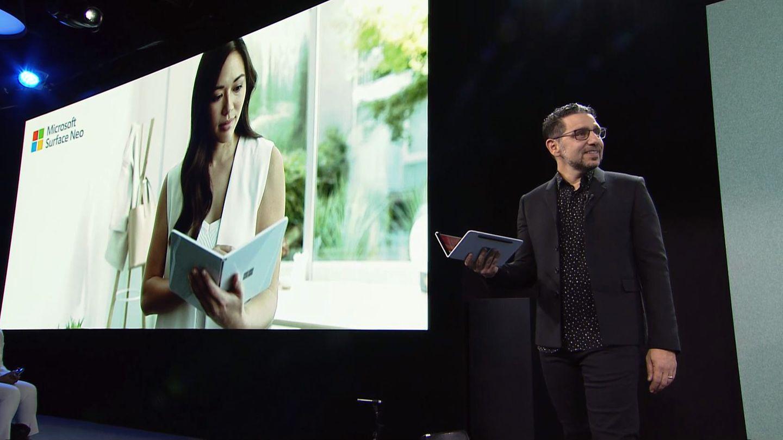 Surface-ChefPanos Panay zeigte mit dem Surface Neo und dem Surface Duo die Zukunft des Konzerns