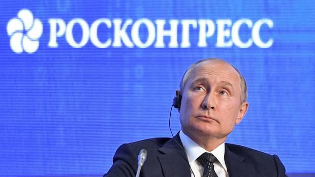 Wladimir Putin kann den Hype um Greta Thunberg nicht verstehen