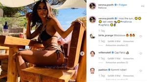 Verona Pooth heizt Followern mit Bikini-Bild ein