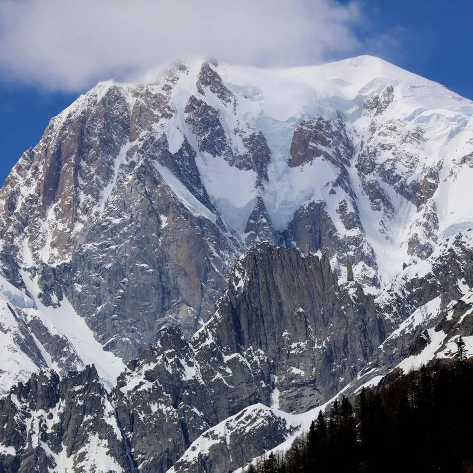 Klima-Alarm in den Alpen: Matterhorn und Mont Blanc bröckeln