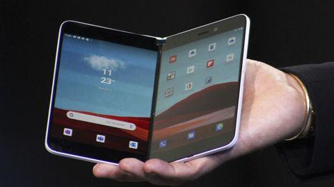 Das neuefaltbare Smartphone Surface Duo von Microsoft