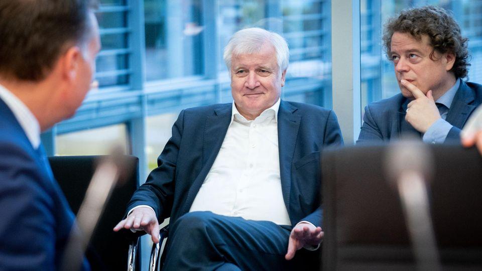 Horst Seehofer (M., CSU), Bundesminister des Innern, für Bau und Heimat