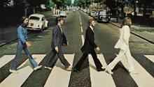 """Das Cover von """"Abbey Road"""" der Beatles"""