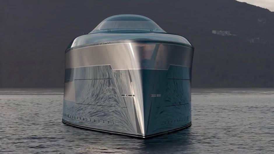 """Konzeptstudie """"Aqua"""": Diese Superyacht soll mit Wasserstoff über die Meere fahren"""