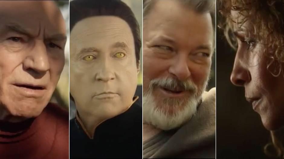 """""""Star Trek: Picard"""": Trailer zur neuen Star-Trek-Serie zeigt viele bekannte Enterprise-Helden"""