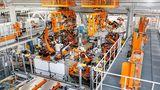 Die Produktion in den Böllinger Höfen wird für den Audi e-tron GT angepasst