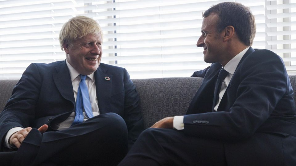 Brexit Johnson Macron