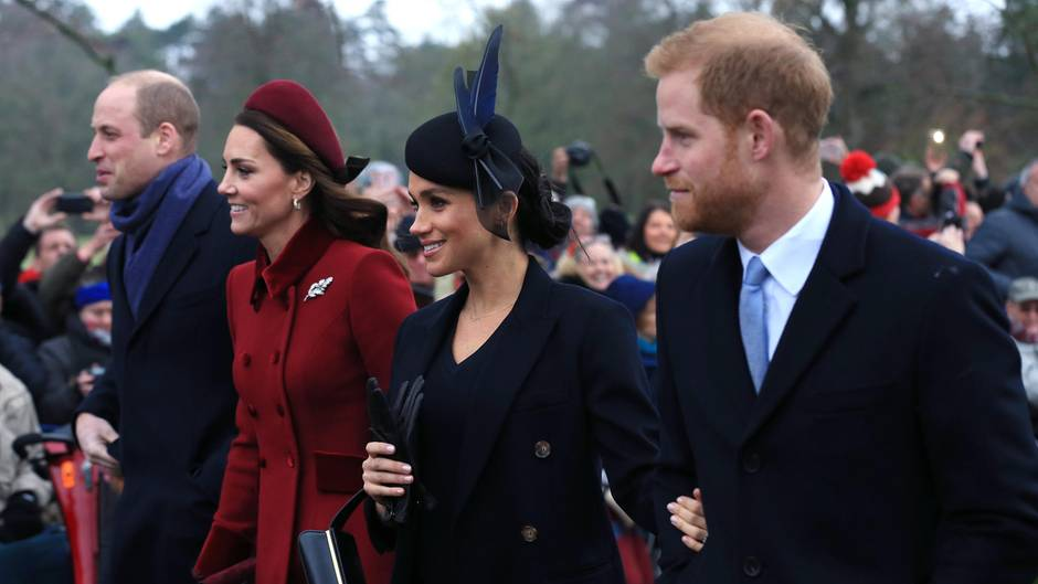 Kate, William, Meghan und Harry werden gemeinsam in einem TV-Spot zu sehen sein