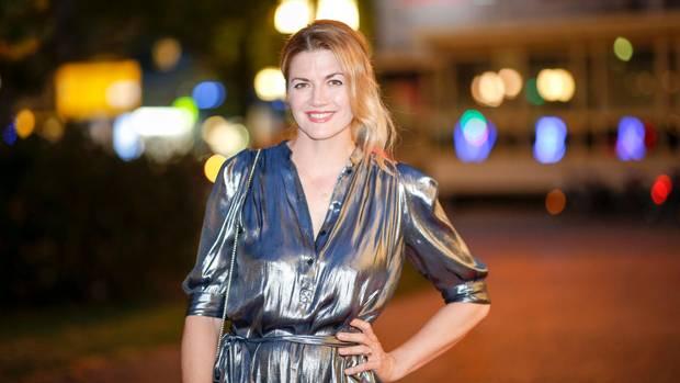 Nina Bott beim VAUNET Sommerfest in Berlin