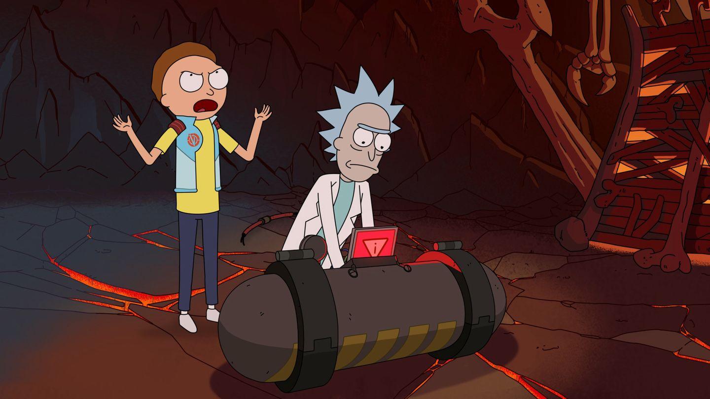 Weg zurück nach Hause Rick Morty