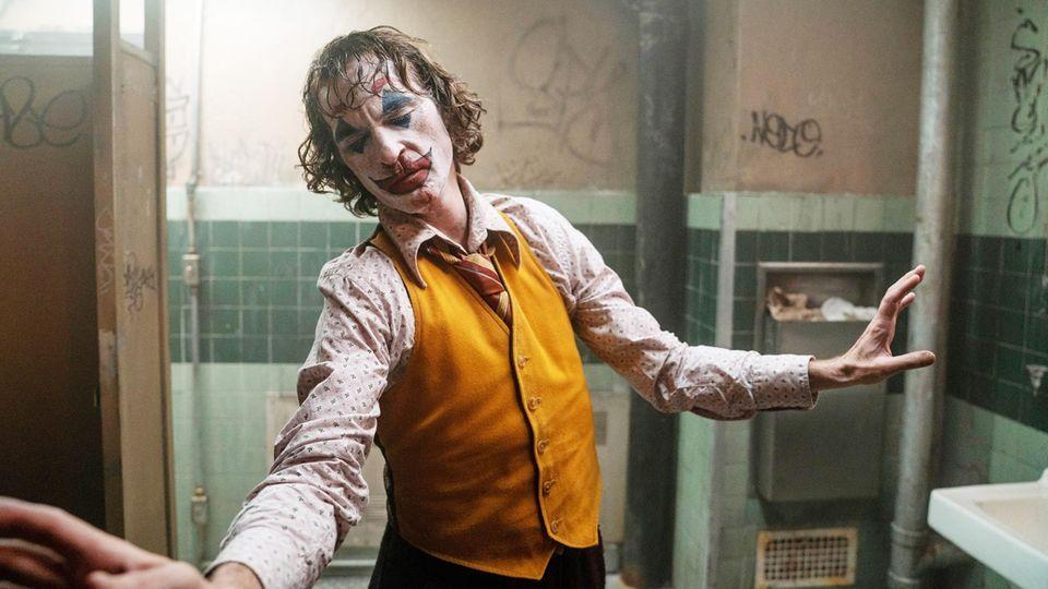 "Joaquin Phoenix als ""Joker"" im aktuellen Kinofilm"