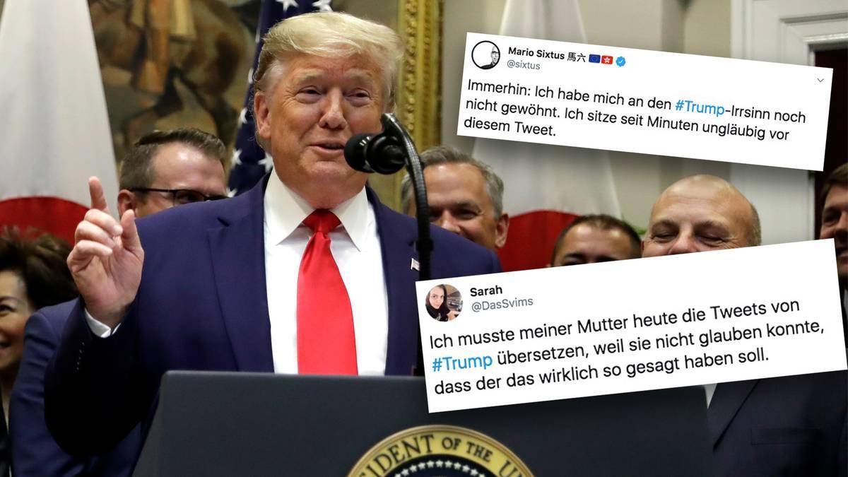 """Truppen-Abzug aus Syrien: Trump spricht über seine """"unvergleichliche Weisheit"""" – Twitter-Nutzer fragen sich: """"Satire?"""""""