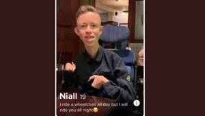 Niall Taylor auf Tinder