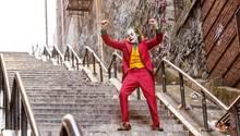 Arthur Fleck, der Joker (Joaquin Phoenix), in einer Szene des Kinofilms