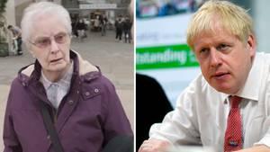 Kein Fan von Boris Johnson: Vor laufender Kamera reagiert diese Britin schlagfertig auf die Frage einer Sky-News Journalistin.