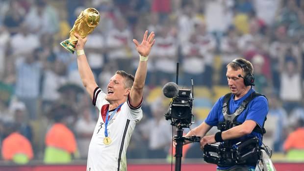 Bastian Schweinsteiger nach dem WM-Finale 2014