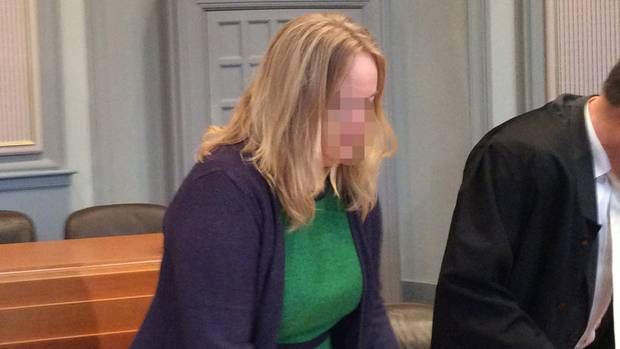 Staatsanwältin Maya S. im Kieler Landgericht