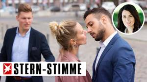 Wenn sich eine Person nicht zwischen zwei Partnern entscheidet, gibt es schnell Probleme (Symbolbild)