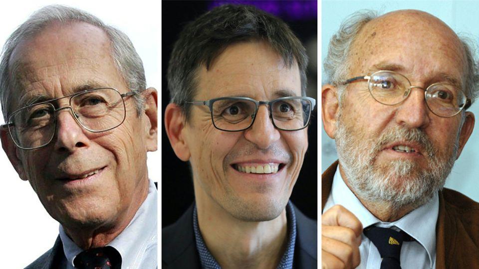 Physik-Nobelpreisträger 2019: James Peebles, Didier Queloz, Michel Mayor