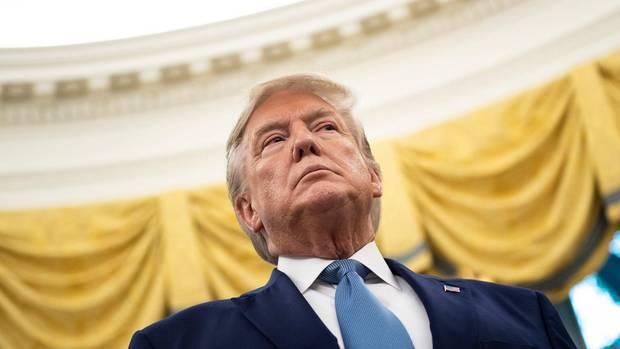 US-Präsident Donald Trump setzt bei der Kongress-Untersuchung zur Ukraine-Affäre auf Blockade