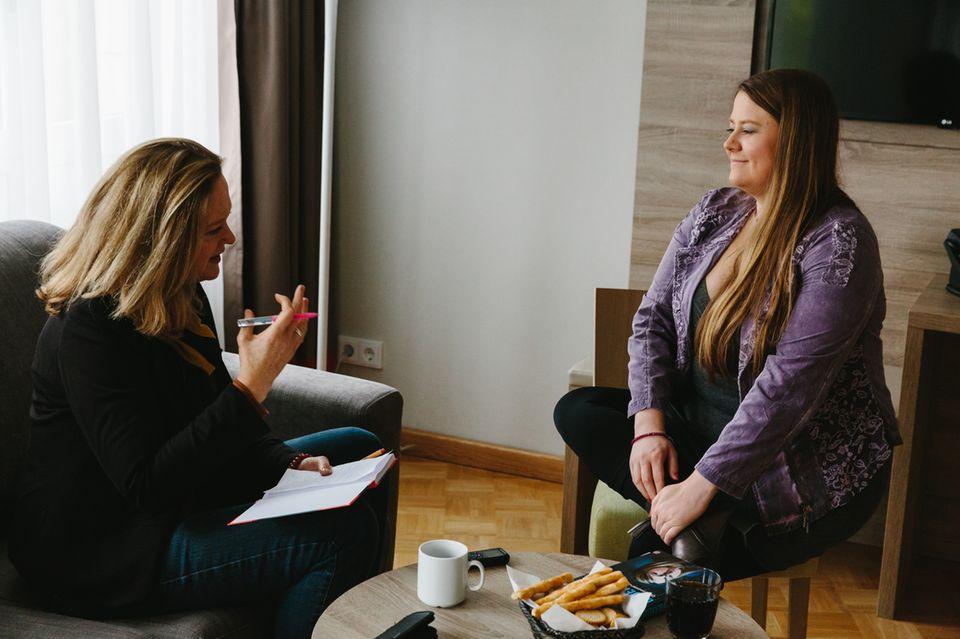 stern-Reporterin Nina Poelchau traf die 31-jährige Natascha Kampusch in Berlin.