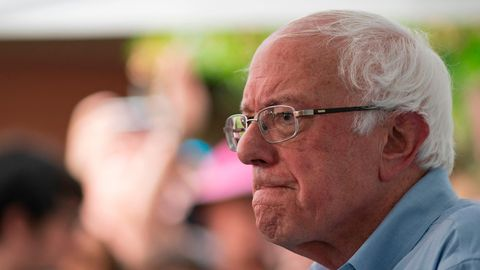 US-Präsidentschaftskandidat Bernie Sanders