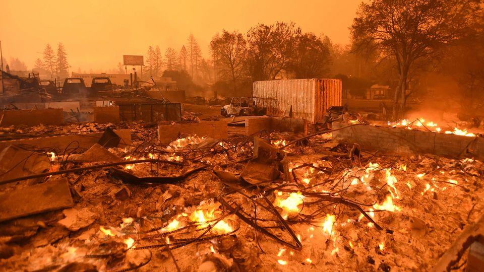Paradise, Kalifornien: Bei dem verheerenden Waldbrand im November 2018 starben 85 Menschen