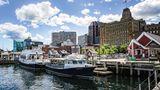 Die Küstenstadt Halifax