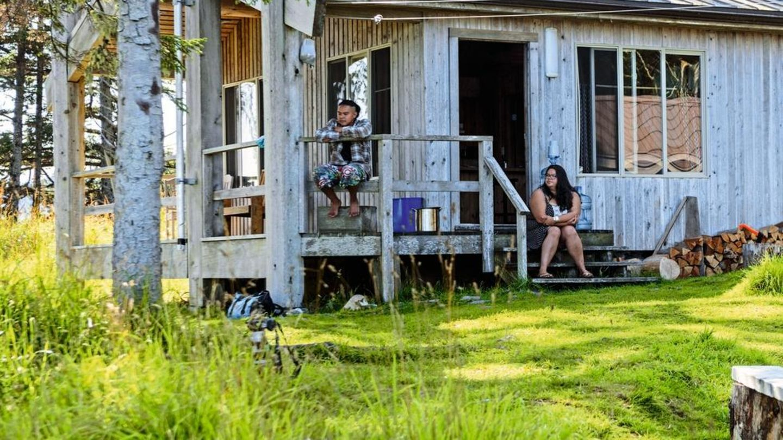 Eine Sommerhütte im Nationalpark Gwaii Haanas