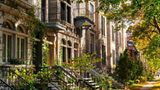 Alte Häuserfassaden in Montreal