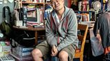 Der Comiczeichner Sherwin Tjia