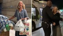 Emily Zamourka: Obdachlose Opernsängerin bedankt sich beim Polizisten, der sie gefilmt hat