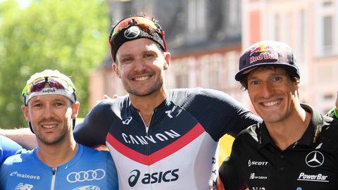 Ironman Hawaii 2019 – Patrick Lange, Jan Frodeno und Sebastian Kienle nach der Ironman-EM in Frankfurt