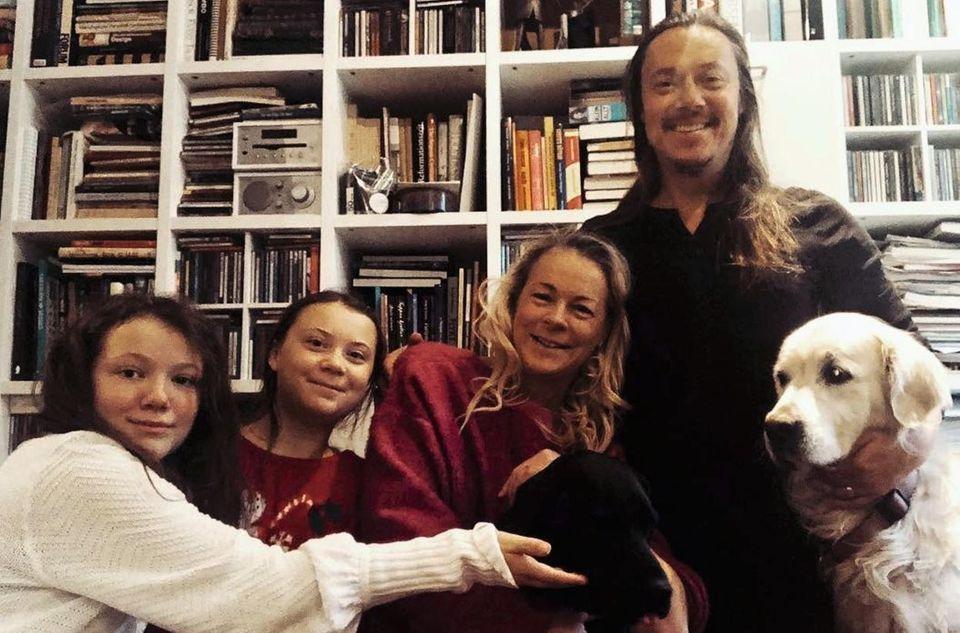Die Familie von Greta Thunberg